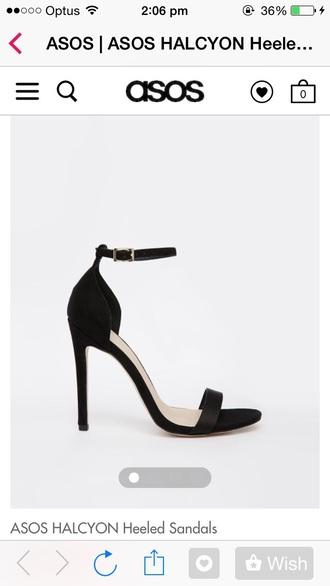 shoes black ankle strap heels