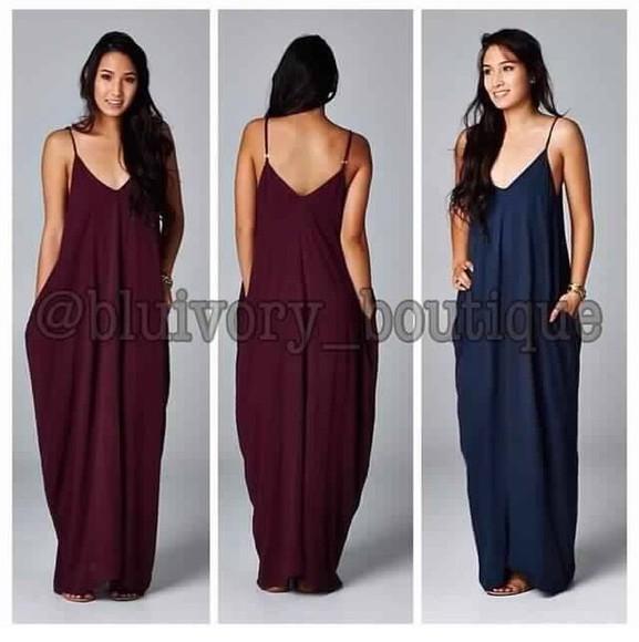 pocket dress dress pockets dress with pockets maxi dress maxis spaghetti straps dresses