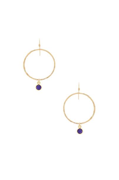 Mimi & Lu earrings metallic gold jewels