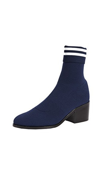 opening ceremony booties navy shoes