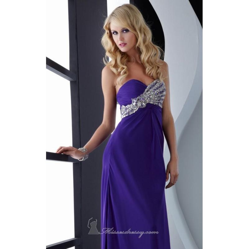 Strapless evening gown by Jasz Couture 4590 - Bonny Evening Dresses Online