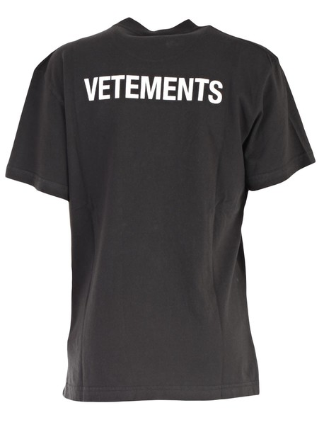 Vetements t-shirt shirt t-shirt short print black top