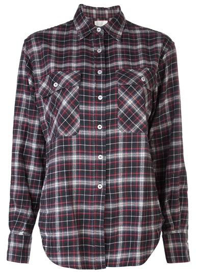 R13 Plaid Flannel Shirt - The Parliament - Farfetch.com
