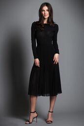 romper,bodysuit,sheer,see through,black,backless,skirt,pleated skirt,high heels,sexy,kiki de montparnasse,classy