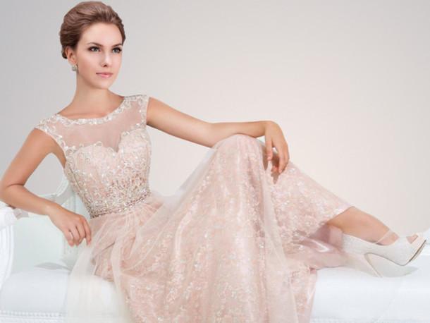 Prom dresses sheer sleeves