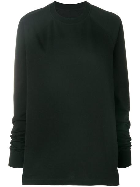 sweatshirt women fit cotton black sweater