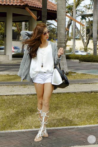 shoes shorts bag sunglasses kryzuy cardigan