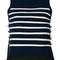 3.1 phillip lim - sleeveless striped top - women - silk/polyamide/spandex/elastane/merino - m, blue, silk/polyamide/spandex/elastane/merino
