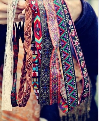 hair accessories headband pattern tribal pattern girly hipster girl native native american native pattern