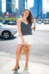 covering bases,curvy,blogger,tank top,jeans,shorts,shoes,sunglasses,jewels