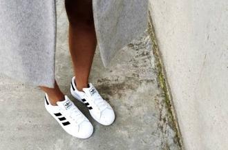 shoes adidas grunge superstars