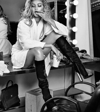 shoes gigi hadid fashion boots black heels shoot must have shoes love