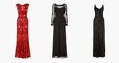 bonsoir cherie,blogger,jumpsuit,sequin dress,red dress,full length,gown