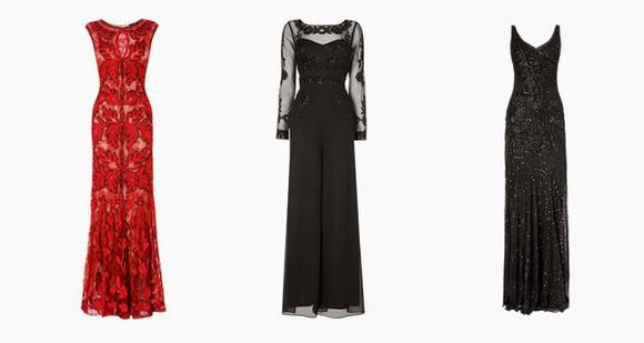 red dress blogger bonsoir cherie jumpsuit sequin dress full length gown