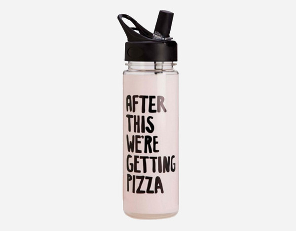 Home accessory workout gym quote on it pizza funny