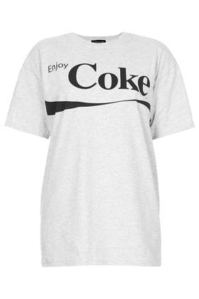 Coke Tee - Tops  - Clothing  - Topshop