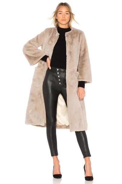 5149 coat long coat long cream