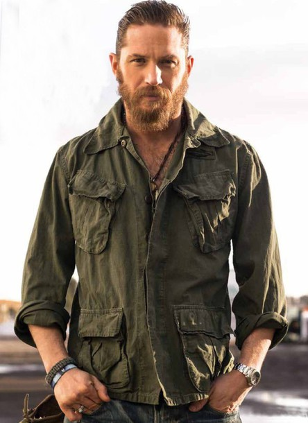 shirt, tom hardy, military style, pockets, long sleeves ...