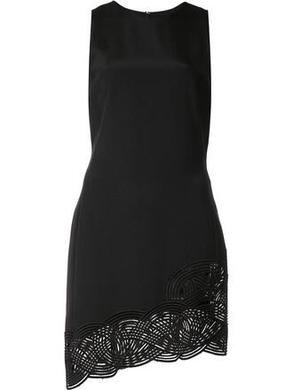 dress asymmetrical dress asymmetrical women spandex black silk