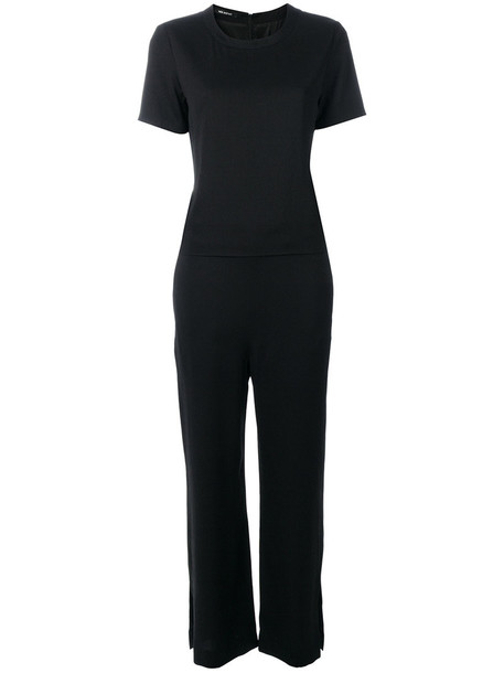 neil barrett jumpsuit short women spandex black