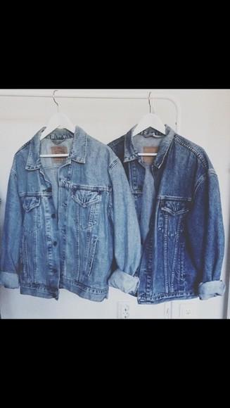 jacket denim jacket grunge oversized denim denim indie