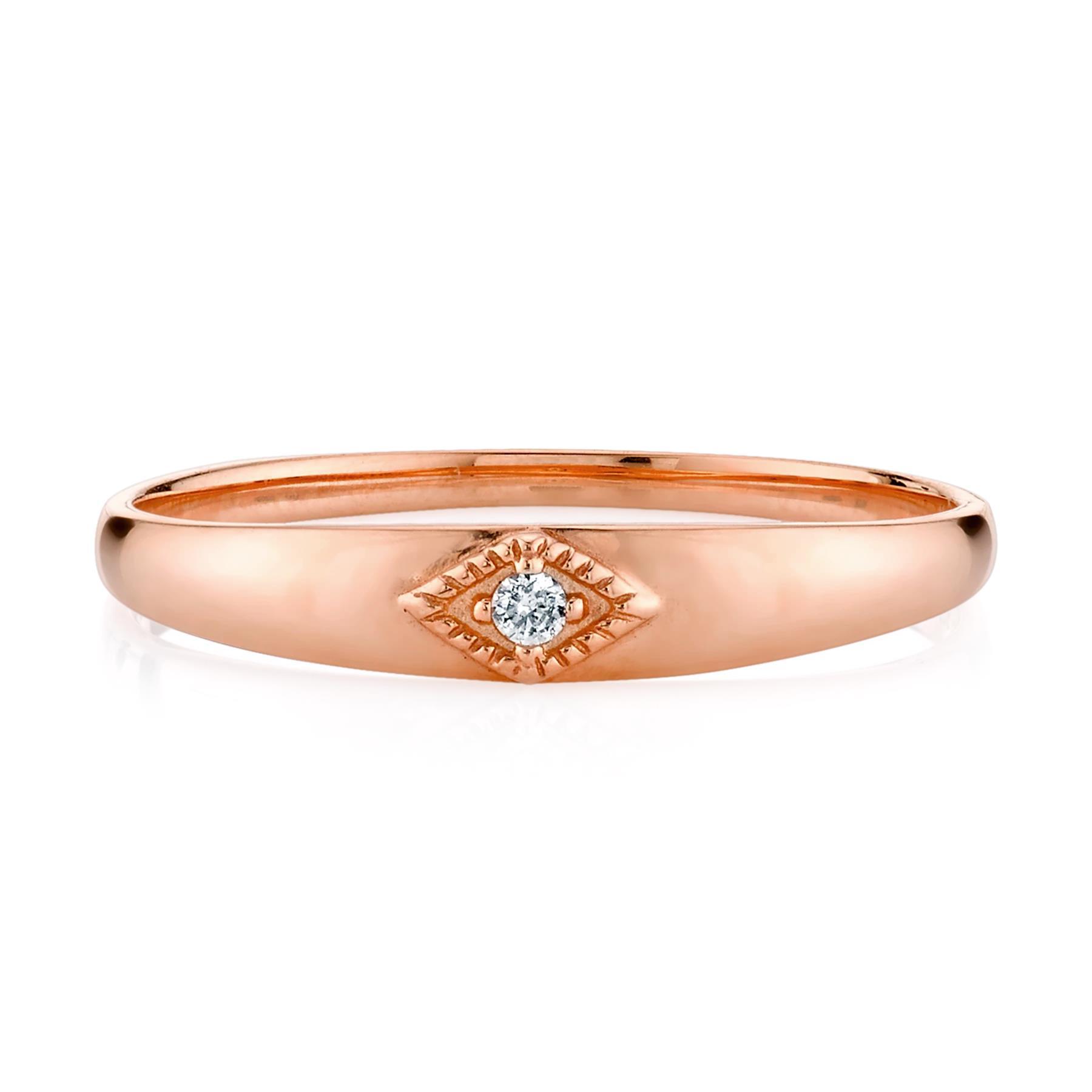 DIAMOND BABY RING