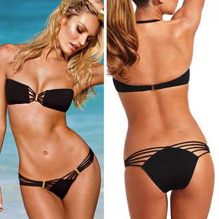 Free Shipping High Fashion Swimwear Women  Bikini Set Sexy Swimsuit Hot Sale Bathing Suit-in Bikinis Set from Apparel & Accessories on Aliexpress.com