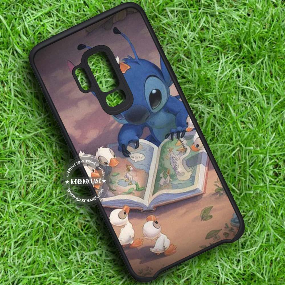 Stitch and The Ducks Disney iPhone X 8 7 Plus 6s Cases Samsung Galaxy S9 S8 Plus S7 edge NOTE 8 Covers #SamsungS9 #iphoneX