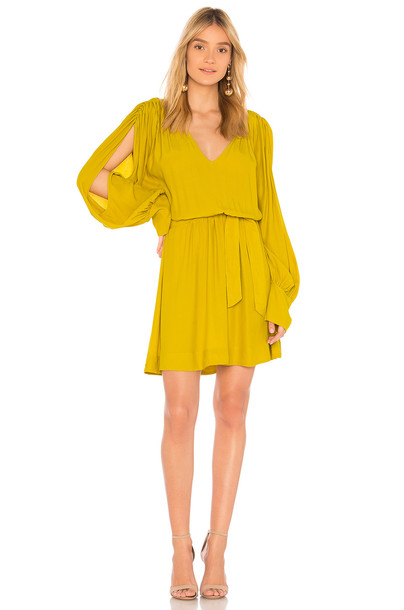 SWF dress mini dress mini mustard