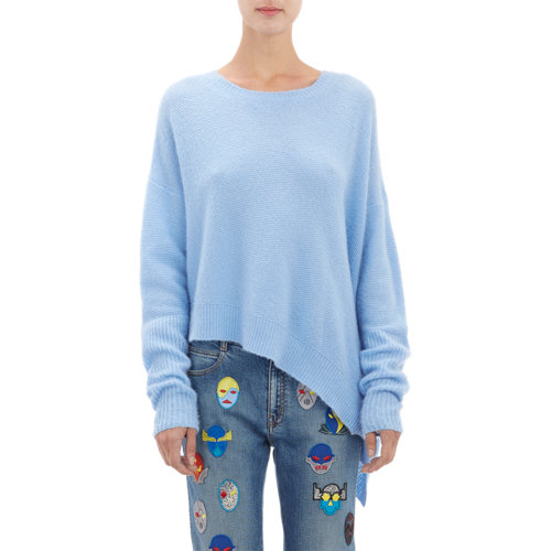 Stitch asymmetric sweater at barneys.com