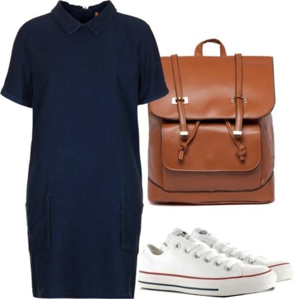 bag leather back to school school bag eleanor calder leather backpack dress