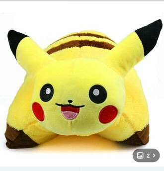 home accessory pikachu pillow