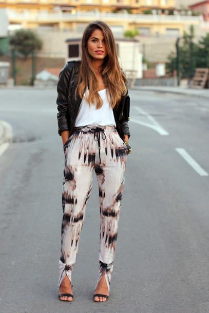 seams for a desire t-shirt pants shoes bag jewels multicolor pants pants leggings