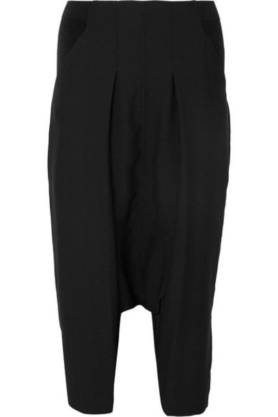 pants cropped black