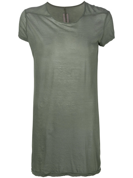 Rick Owens t-shirt shirt t-shirt women cotton green top
