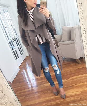 extra petite blogger jeans top dress shoes underwear tights jacket coat
