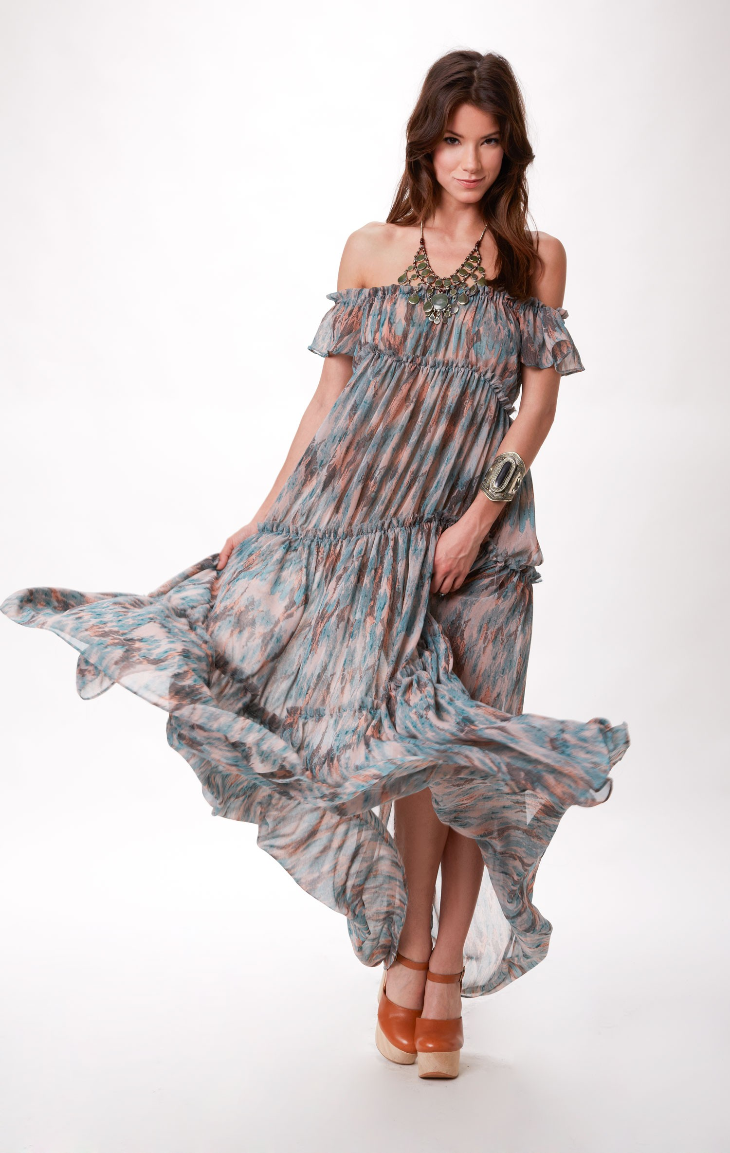 ale by alessandra TIERED DRESS