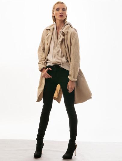 Jeans Neuw Marilyn Marilyn Skinny Cropped Black Raw - Kostenloser Versand und Rückversand.