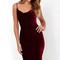Jazzy belle burgundy velvet dress