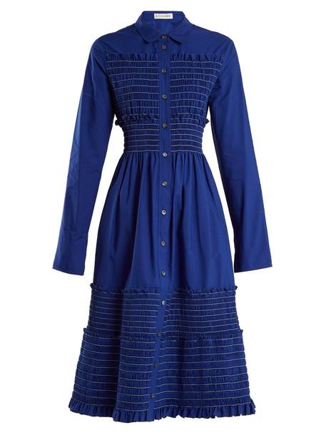 Altuzarra dress cotton blue