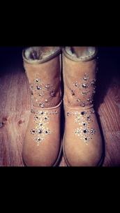 shoes,swarowski uggs