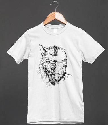Housestark ironsnow skreened t shirts organic shirts for Organic custom t shirts