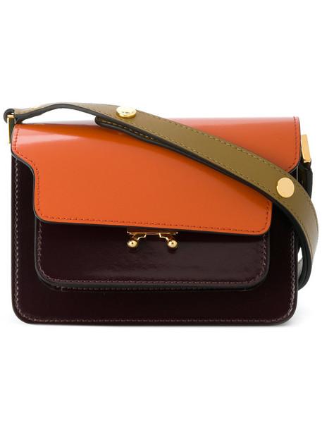 MARNI mini women bag shoulder bag leather red