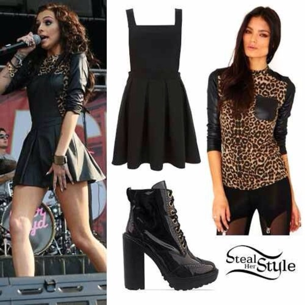 dress cher lloyd perfecto shoes blouse