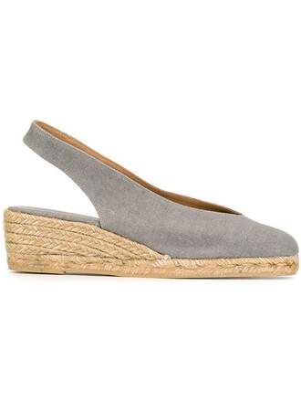 espadrilles grey shoes