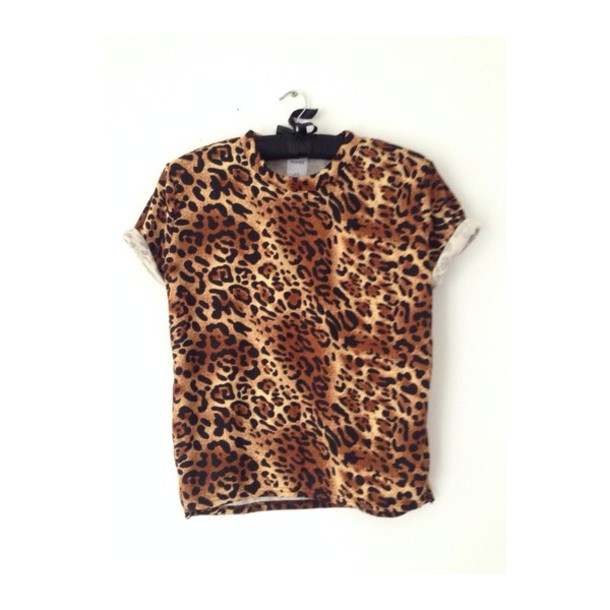t-shirt leopard print graphic tee top fashion celebrity style swag swag hipster indie animal print streetwear obey urban outfitters apparel soft grunge oversized t-shirt t-shirt leopard print celebrity style steal urban urban outfitters cool shirts indie rock punk rock rock rihanna style
