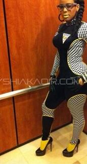 pants,keyshia kaoir,bodysuit