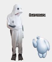 jumpsuit,baymax kigurumi onesies,baymax
