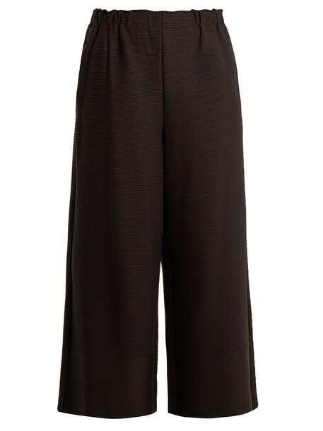 Issey Miyake pleated black pants