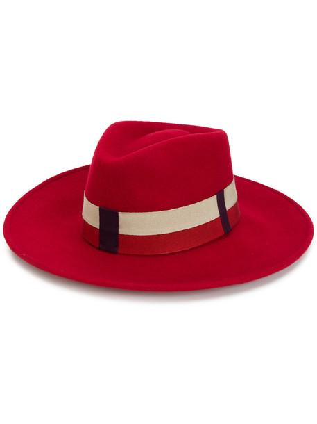 Le Chapeau women hat cotton red
